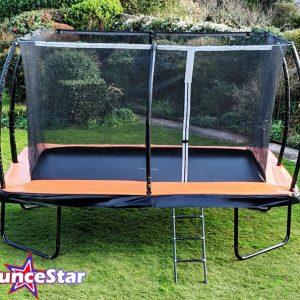 BounceStar 8x12ft trampoline package