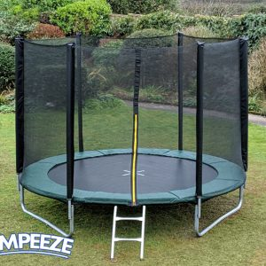 Jumpeeze Green 10ft trampoline package