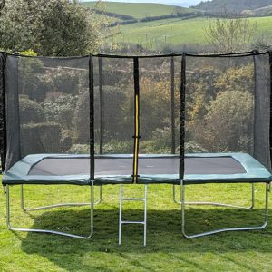Kanga Green 9x14ft trampoline package