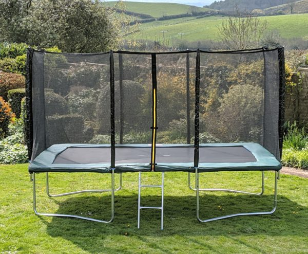 Kanga Green 9x14ft trampoline package