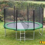Kanga Hi-Power Green 14ft trampoline package