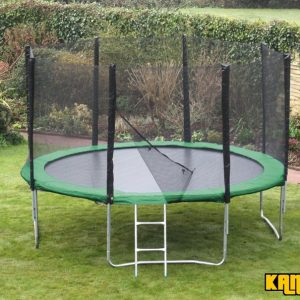 Kanga Hi-Power Green 14ft trampoline package